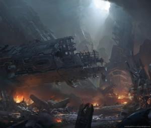 crash-site-of-a-spaceship