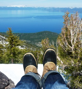 Top of Rubicon Peak at Tahoe